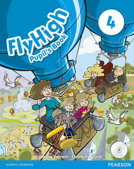 Fly High Level 4 Student's Book with Audio CDs (підручник) - фото книги