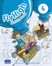 Fly High Level 4 Workbook with CD-ROM (робочий зошит) - фото обкладинки книги