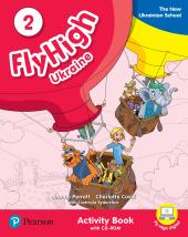 Fly High UKRAINE 2 Activity Book + CD Rom - фото обкладинки книги