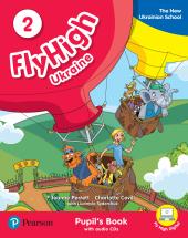 Fly High Ukraine 2 Pupil's Book + Audio CD - фото обкладинки книги