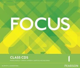 Focus 1 Class Audio CD (аудіодиск) - фото книги