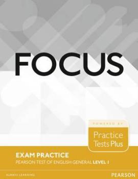 Focus 1 Exam Practice: Pearson Tests of English General (тестовий зошит) - фото книги