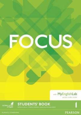 Focus 1 Student Book + MyEnglishLab (підручник) - фото книги