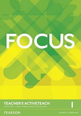 Focus 1 Teacher's ActiveTeach (інтерактивний курс) - фото книги