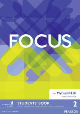 Focus 2 Student Book + MyEnglishLab (підручник) - фото книги