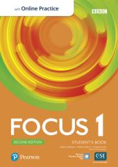 Focus 2nd Edition 1 Student's Book with MyEnglishLab - фото обкладинки книги