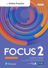 Focus 2nd Edition 2 Student's Book with MyEnglishLab - фото обкладинки книги
