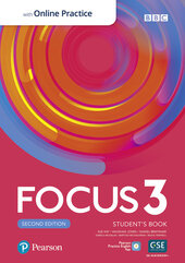 Focus 2nd Edition 3 Student's Book with MyEnglishLab - фото обкладинки книги