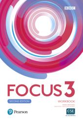 Focus 2nd Edition 3 Workbook - фото обкладинки книги