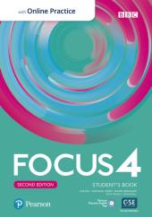 Focus 2nd Edition 4 Student's Book, Active Book and MyEnglishLab - фото обкладинки книги