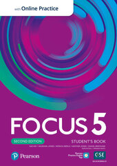Focus 2nd Edition 5 Student's Book, Active Book and MyEnglishLab - фото обкладинки книги
