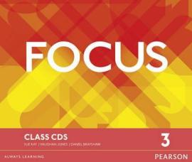 Focus 3 Class Audio CD (аудіодиск) - фото книги