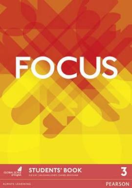 Focus 3 Student Book (підручник) - фото книги
