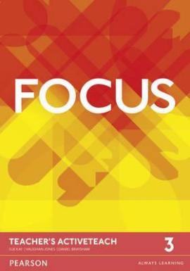 Focus 3 Teacher's ActiveTeach (інтерактивний курс) - фото книги