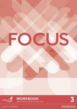 Focus 3 Workbook - фото книги