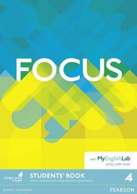 Focus 4 Student Book +  MyEnglishLab (підручник) - фото книги