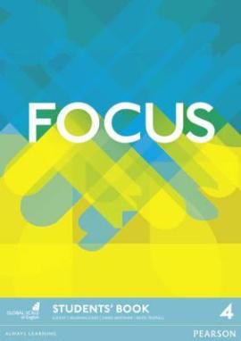 Focus 4 Student Book (підручник) - фото книги