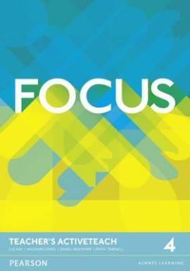 Focus 4 Teacher's ActiveTeach (інтерактивний курс) - фото книги