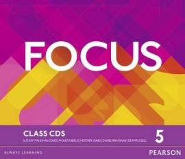 Focus 5 Class Audio CD (аудіодиск) - фото книги