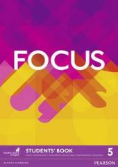 Focus 5 Student Book (підручник) - фото обкладинки книги