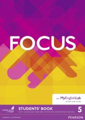 Focus 5 Student's Book + MyEnglishLab (підручник) - фото обкладинки книги