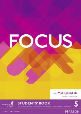 Focus 5 Student's Book + MyEnglishLab (підручник) - фото книги