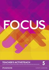 Focus 5 Teacher's ActiveTeach (інтерактивний курс) - фото обкладинки книги