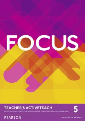 Focus 5 Teacher's ActiveTeach (інтерактивний курс) - фото книги