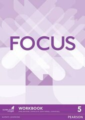 Focus 5 Workbook - фото обкладинки книги