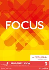 Focus BrE 3 Student's Book & MyEnglishLab Pack (підручник) - фото обкладинки книги
