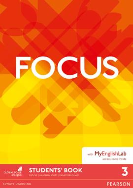 Focus BrE 3 Student's Book & MyEnglishLab Pack (підручник) - фото книги