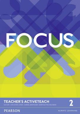 Focus Level 2 Teacher's Book Active Teach (аудодиск) - фото книги