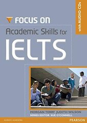 Focus on Academic SKills for IELTS Student's Book with CD (підручник+аудіодиск) - фото обкладинки книги
