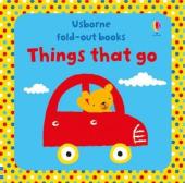 Fold-Out Books. Things That Go - фото обкладинки книги