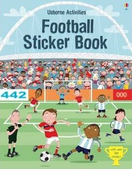 Football. Sticker Book - фото книги