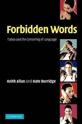Forbidden Words : Taboo and the Censoring of Language - фото обкладинки книги
