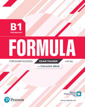 Formula B1 Preliminary Exam Trainer with Key, Interactive eBook, Digital Resources and App - фото обкладинки книги