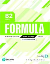 Formula B2 First Exam Trainer with Key, Interactive eBook, Digital Resources and App - фото обкладинки книги