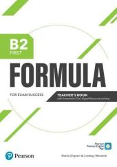 Formula B2 First Teacher's Book with Presentation Tools, Digital Resources and App - фото обкладинки книги
