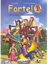 Forte! 1 (A1) Libro dello studente ed esercizi + CD audio - фото обкладинки книги