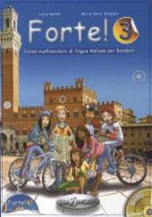 Forte! 3 (A2) Libro dello studente ed esercizi + CD audio - фото обкладинки книги