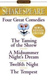 Four Great Comedies. Revised Edition - фото обкладинки книги