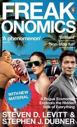 Freakonomics: A Rogue Economist Explores the Hidden Side of Everything - фото обкладинки книги