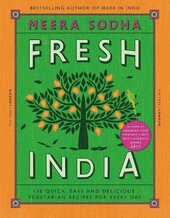 Fresh India: 130 Quick, Easy and Delicious Vegetarian Recipes for Every Day - фото обкладинки книги