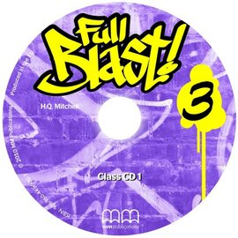 Full Blast! 3 Class CDs - фото книги