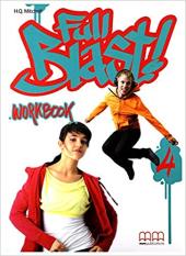 Full Blast! 4 WB with CD - фото обкладинки книги