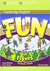 Fun for 2nd Edition Flyers Student's Book - фото обкладинки книги