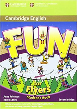 Fun for 2nd Edition Flyers Student's Book - фото книги