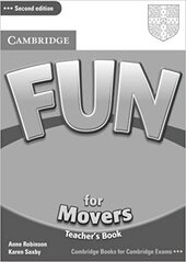 Fun for 2nd Edition Movers Teacher's Book - фото обкладинки книги