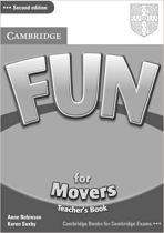 Аудіодиск Fun for 2nd Edition Movers Teacher's Book